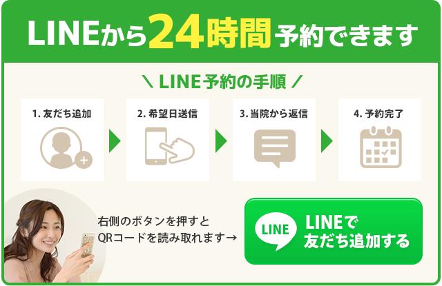 LINEからのお問い合わせはこちら。